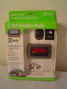 Delphi Roady 2 XM Satellite Radio SA10085W w/ Antenna Mounting