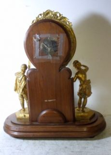 Early Davies Crystal Palace Statue Clock