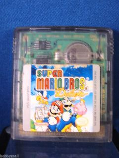 Color GBC Super Mario Bros Deluxe Video Game 045496730925