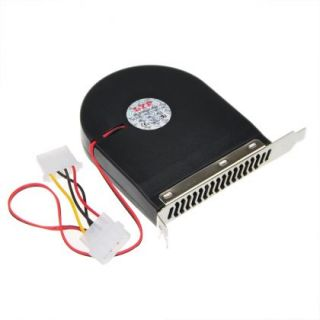 System Blower CPU Case PCI Slot DC Brushless Fan Cooler for PC 12V 0