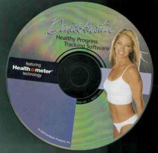 Denise Austin Healthy Progress Tracking PC CD Body Fat