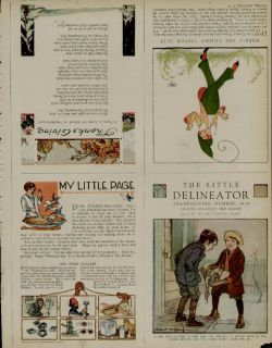 1924 HE LILE DELINEAOR SORY BOOK PAGE / NOVEMBER 1924