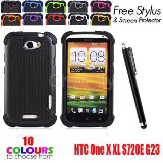 Combo Matte Protective Rubber Silicon Hard Case Cover Fr One X