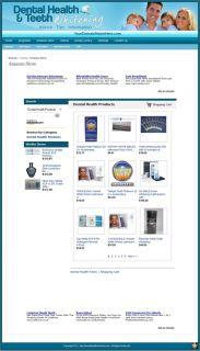 Established Dental Health Website for Sale Websites by SITEGAP