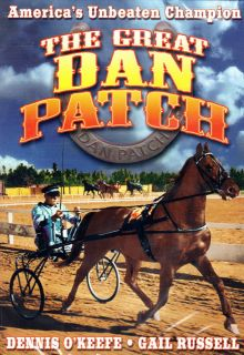 SULKY HORSE RACING 1949 THE GREAT DAN PATCH ~ DENNIS OKEEFE ~ NEW DVD