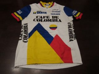 Vtg Tommaso Mens RARE Retro Cafe de Colombia Pro Cycling Team Bike