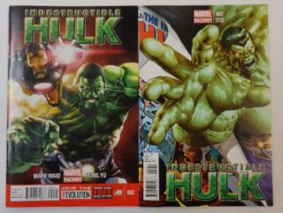 INDESTRUCTIBLE HULK #2 VARIANT COVER SET 150 MIKE DEODATO MARVEL NOW