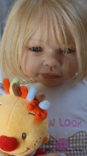OOAK Toddler Kit Andres de Jannie de Lange Human Hair Genesis