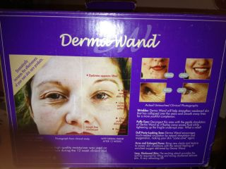 DERMA WAND Oxygenating Skin Care System for Beautiful Vibrant Looking