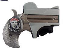 Derringer Gun Pistol Lighter Buckle Che Guevara New