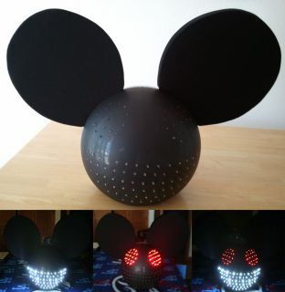 Deadmau5 LED Head Replica Costume LED Mouse Head