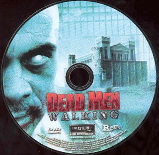 Dead Men Walking DVD Horror Movie Asylum Zombie Prison