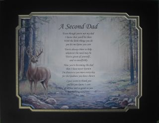 PERSONALIZED POEM STEPDAD, ADOPTIVE, BIRTHDAY, FATHERS DAY CHRISTMAS