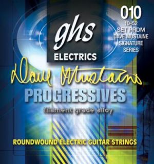 ghs electric dave mustaine progressives 10 52 prdm