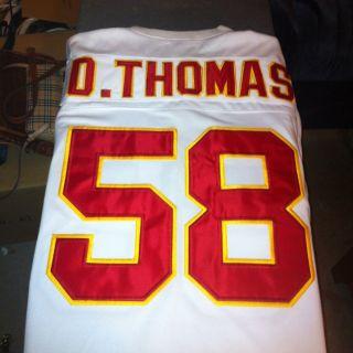 Derrick Thomas Kansas City Chiefs Professional Jersey Size 56 XXL