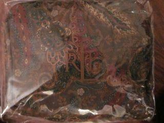 NIP $135 Ralph Lauren Rue Des Artistes Queen Bedskirt