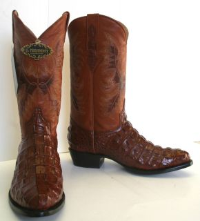 Crocodile Alligator Back Cut Design Man Western Cowboy Boots J Toe