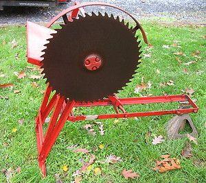 David Bradley Old Garden Tractor Buck Saw  RARE