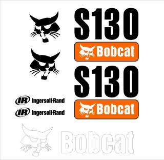 S130 new style decal kit / set skid loader skid steer bobcat xSx S 130