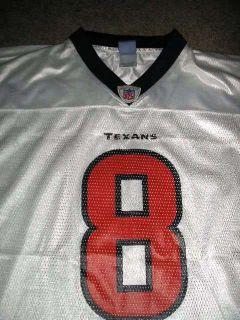 David Carr 8 Houston Texans NFL Football Jersey Men Boys Ladies Adult