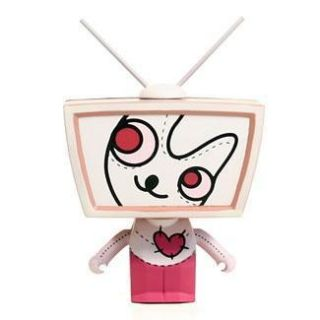 HAIR TV HEADS ARTIST SERIES 1 DESIGNER VINYL TOY FIGURE KACHING BRANDS