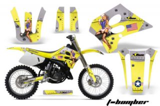 AMR Graphics Decal Kit Suzuki RM 250 RM250 93 95 Parts