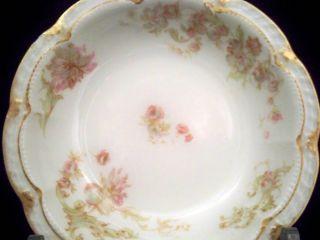 Limoges Schleiger 235F Double Gold Fruit Berry Dessert Bowl Dish #3/10