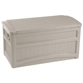 New Suncast Outdoor Patio Deck Accessories Storage Box