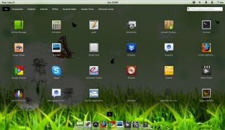New Pear Linux 5 Desktop Laptop 32 Bit 8GB USB OS Looks Like Mac OS x