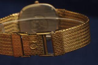 Omega DeVille Gold/Authentic Luxury Mens Vintage Dress Watch