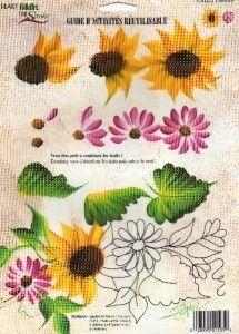 Donna Dewberry Reusable Teaching Guide RTG Sunflower