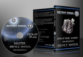 Detroit 50 Series Diesel Power Service Manuals on Highway Bonus
