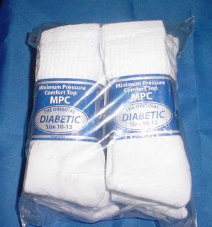 12 Pair Diabetic Socks Size 10 13 Crew Socks MPC Brand