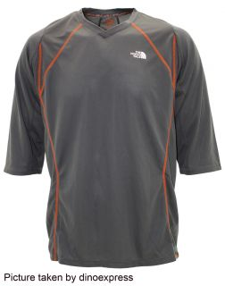NEW The North Face Mens MURRAY DEE JERSEY mtb cycling shirt GREY nwt