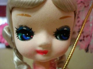 Bradley Styled Vintage Doll Music Box Plays Love Story