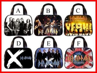Def Leppard Rock Band Hot RARE Handbag Purse Pick 1