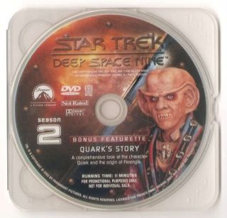 Best Buy Bonus DVD Star Trek Deep Space Nine Season 2 DS9 9 Disc Disk