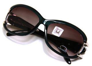 DG Eyewear Green Blue Frame Vented Split Design Hot Fashion Sunglasses