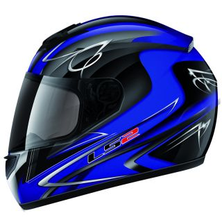 LS2 FF351 Diamond 2 Full Face Polycarbonate motorbike Motorcycle Crash