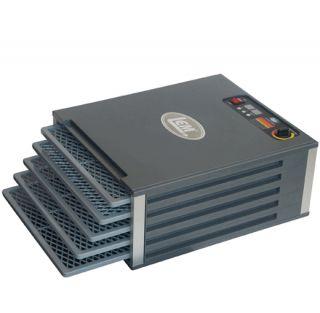 New Lem Products 5 Tray Food Dehydrator Adjustable Temperature Digital