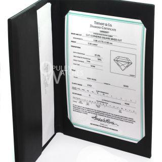 Platinum Lucida Diamond Engagement Ring VVS1 G 94ct Solitaire