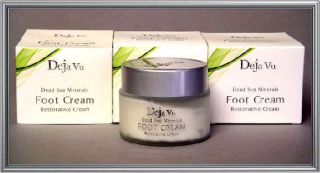 Deja Vu Dead Sea Cosmetics Revitalizing Foot Cream