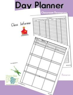 Teachers Day Planner Printable Teaching Resource PDF