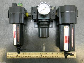 Dayton Pneumatic Water Filter Regulator Lubricator 3 8 NPT Wilkerson