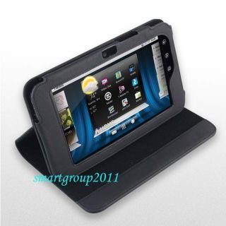 New Leather Cover Case Bag for 7 Dell Streak 7 Black