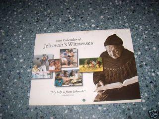 Watchtower Calendario de Los Testigos de Jehovah 2005