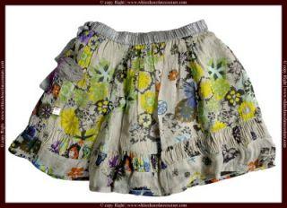 New Didi Floral Printed Kids Embellished Skirt 7 8