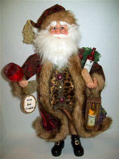 Karen Didion Crakewood Wine and Friends Santa 17 Mint