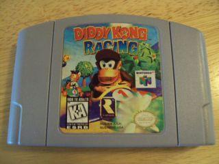 Diddy Kong Racing Nintendo 64 1997 Game Cartridge Only