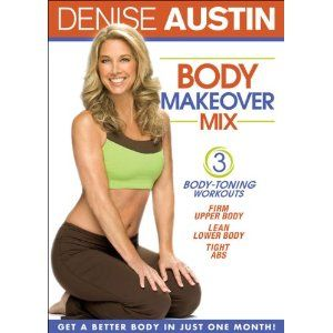 with denise austin body makeover mix designed to dramatically slim and